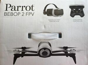 Parrot Bebop 2 FPV Drohne im Set mit Skycontroller und Brille weiß - gebraucht 3 - <span itemprop=availableAtOrFrom>Hartberg, Österreich</span> - Parrot Bebop 2 FPV Drohne im Set mit Skycontroller und Brille weiß - gebraucht 3 - Hartberg, Österreich