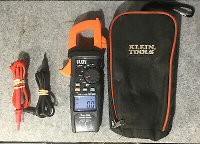 Klein Tools Cl600 Digital Clamp Meter Ac Auto Ranging 600a