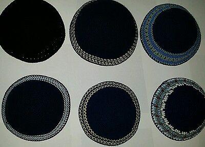 Kippah Kippot Kipa Jewish Judaica Handmade Knitted kippah Yarmulke Yamaka 18cm::