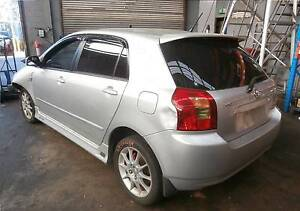 WRECKING 2003 TOYOTA COROLLA 1.8 6SPEED HATCH (C20287) Lansvale Liverpool Area Preview