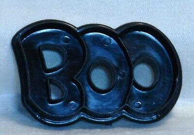 Wilton Plastic Cookie Cutter - Boo Scary Ghostly Sound Halloween Haunted House