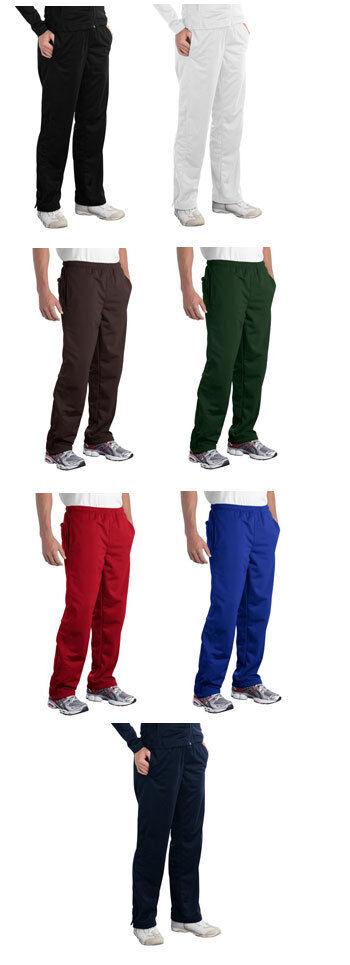 Sport-Tek NEW Mens Wind Pants Lightweight Athletic Dri-Fit Track XS-4XL PST74