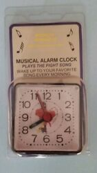 VIRGINIA TECH HOKIES NCAA MINI TRAVEL ALARM CLOCK OFFICIALLY LICENSED NIP