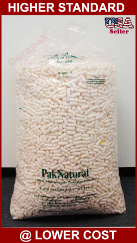 STORO-PAK Industrial Loose Void Fill Bio Degradable Packing Peanuts Protective