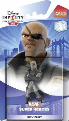 New! Disney Infinity Marvel Super Heroes NICK FURY Figure Edition 2.0