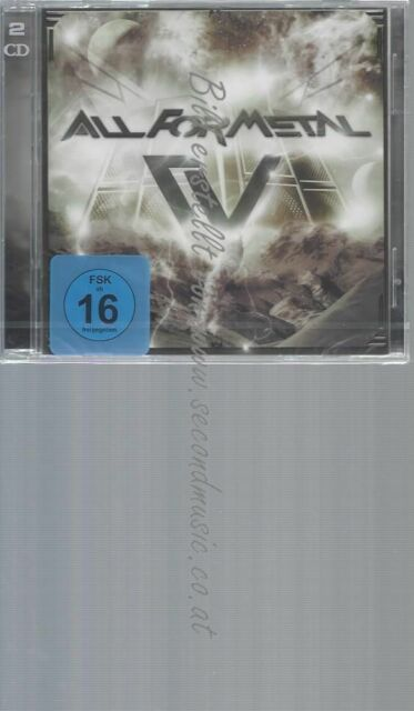 CD--VARIOUS ARTISTS--ALL FOR METAL, VOL. 5