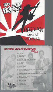 CD-The-Trend-Batman-Live-At-Budokan