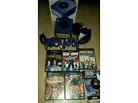 Nintendo game cube complete with 6games