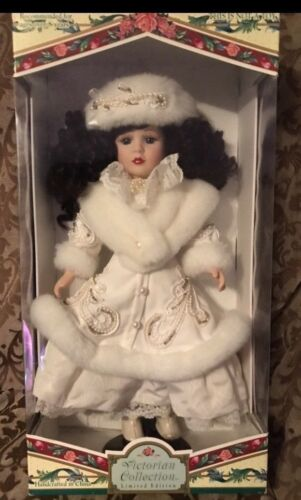 Victorian Collection By Melissa Jane Limited Edition Porcelain Doll