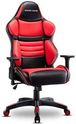 Ergonomic Racing Gaming Chair Computer Desk Swivel Recliner Executive Wide Seat