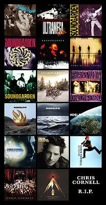 Chris Cornell Album Discography Magnet  6  X 3 5   Soundgarden Audioslave Rip