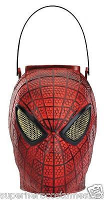 The Amazing Spider-Man Folding Halloween Candy Pail Marvel Comics NWT 42520](Awesome Halloween Candy)