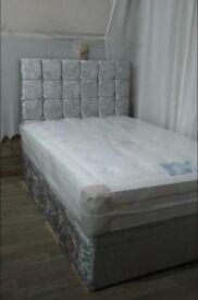 CRUSHED DIVAN BED SET