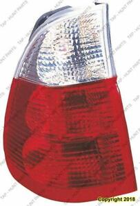 Tail Light Driver Side With White Turn Indicator High Quality BMW X5 2004-2006