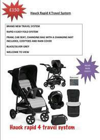 Hauck Rapid 4 Travel system