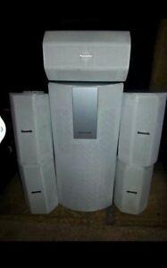 Complete Panasonic Surround Sound Speakers System