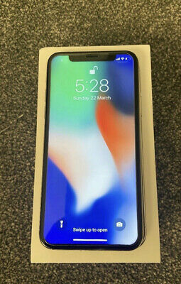 Apple MQAG2B/A iPhone X - 256GB - Silver (Unlocked)