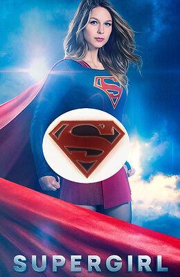DC Comics/CW Supergirl Superman Enamel Pin