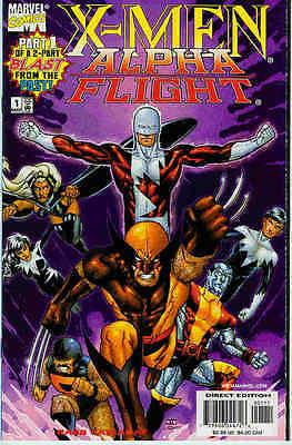 X-Men  / Alpha Flight # 1 (of 2, 2nd series) (USA, 1998)