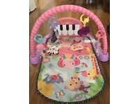 Fisher Price play mat with piano