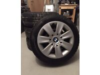 BMW Steel Wheels with Winter Tyres (205/55 R16)