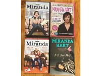 Miranda Hart Series 1,2 & Live Show & Book