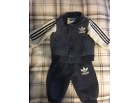 46f603d17b4 Adidas baby tracksuit and Ralph Lauren romper