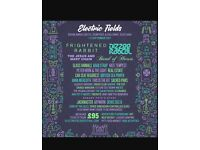 Electric Fields Festival 2x weekend camping tickets + parking ticket