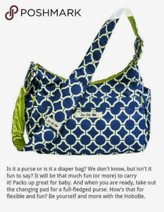 Jujube Hobobe diaper bag