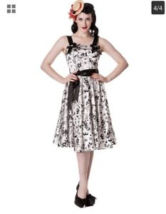 Authentic Hell Bunny Pin Up Dress 3x