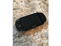 PSP Vita pristine condition but without charger