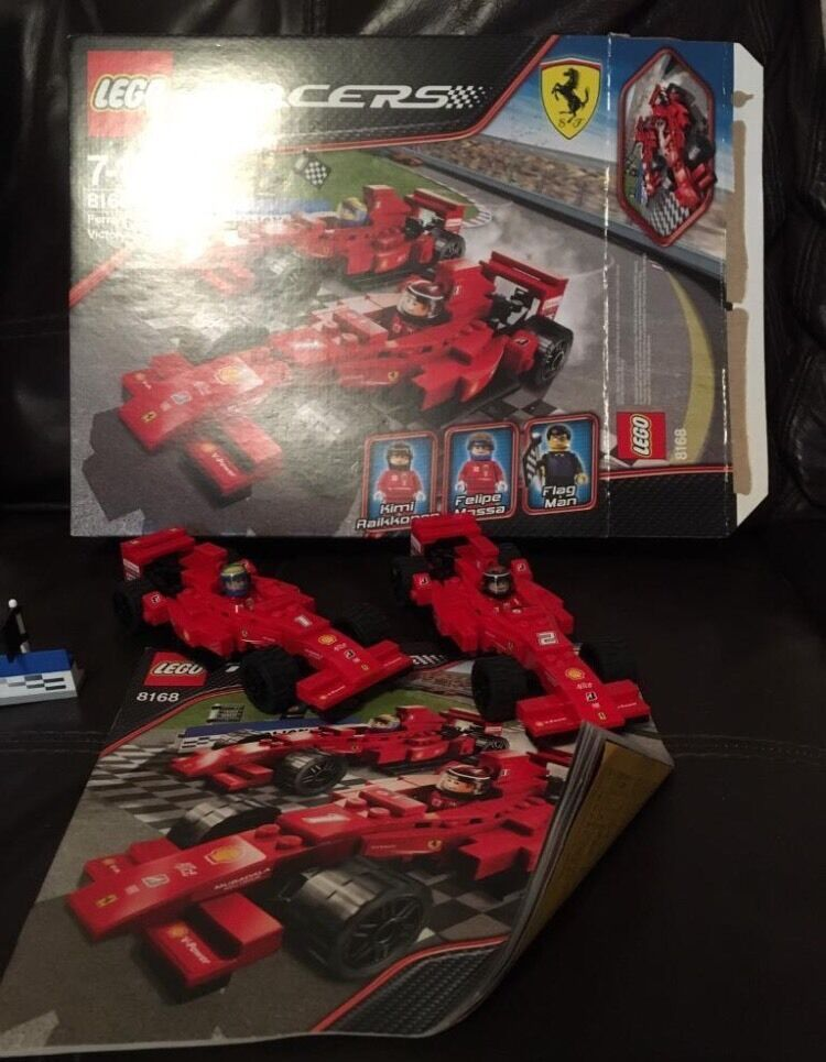 Lego Ferrari Racers 2x F1 8168 Boxed And Instructions In Larbert