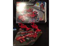 Lego Ferrari racers 2x F1 8168 boxed and instructions