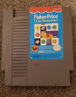 Fisher Price I Can Remember (Nintendo Entertainment System NES)