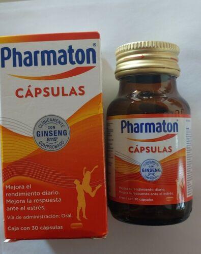 Pharmaton with ginseng G115 30 capsules/Pharmaton con ginseng G115 30 cápsulas