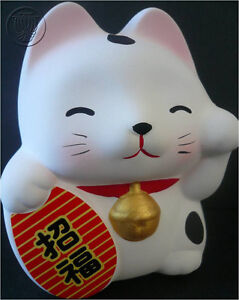 Adorable Lucky Maneki Neko Cat Box/ MADE IN JAPAN/26