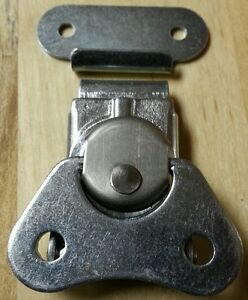 Small Surface Mount ATA Twist Butterfly Latch w/ Keeper Plate   CHEAP SHIPPING!!