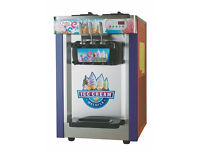 ICE CREAM MACHINE - TRIPLE HEAD - BRAND NEW - SOFT WHIPPY - SHIPPING AVAILABLE