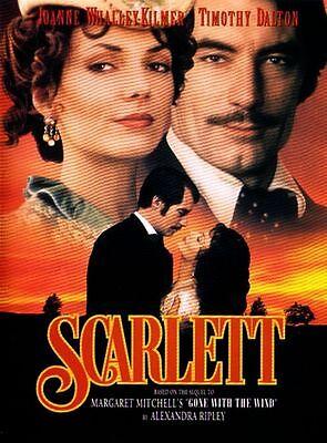 SCARLETT (1994) - Timothy Dalton 2-Disc SET DVD *NEW