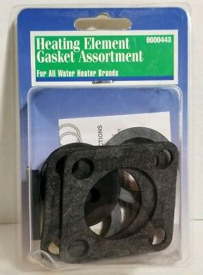 Heating Element Gasket Assortment For All Water Heater Brands 9000443 - (Heating Element Gasket)
