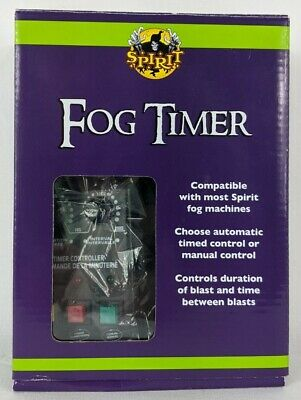 Fog Machine Timer by Spirit Auto or Manual Control New in Box Halloween