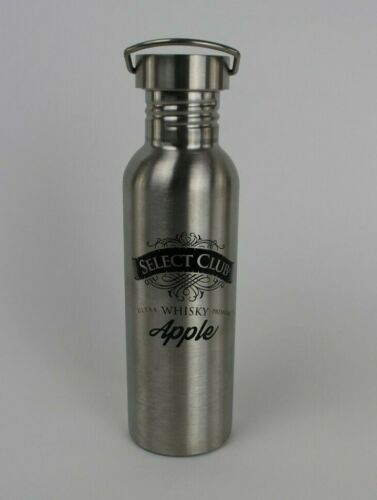 Select Club Whisky Apple Metal Drink Container Water Bottle