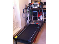 Horizon AC20 folding treadmill with high performance technology