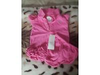 Ralph Lauren Pink Dress with matching briefs- Excellent Condition