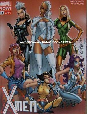 UNCANNY X-MEN #8 Campbell COSPLAY Euro Variant Psylocke Phoenix Storm Rogue Jean