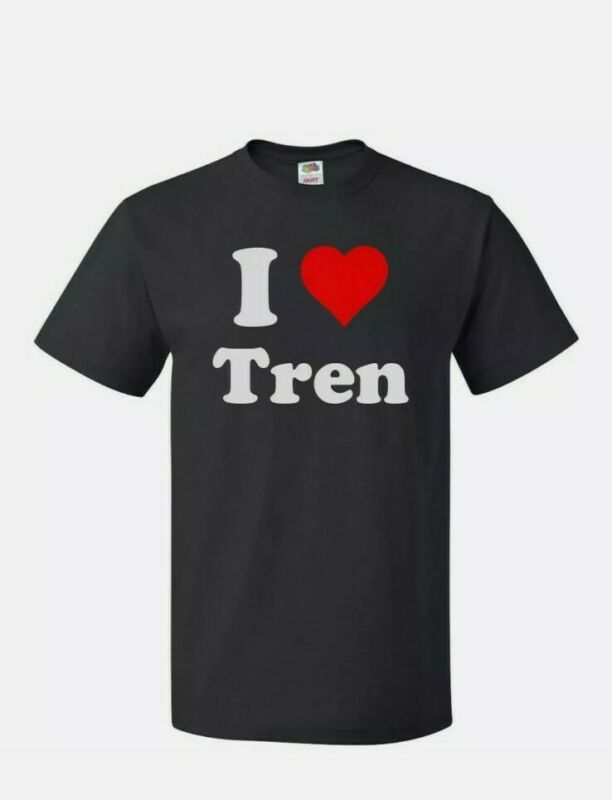 I ♡ Tren shirt - 👕 2 styles - TREN A100 cut and TREN E200 Cut. Your choice