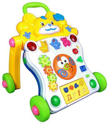 Laufwagen mit Musik laufen lernen Lauflernhilfe Gehfrei Walker Baby Laufhilfe