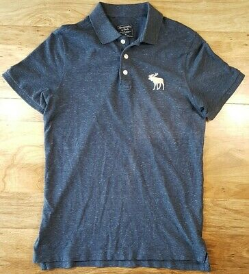 Abercrombie & Fitch Men's Short Sleeve Polo Shirt Size Medium