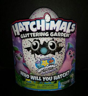 Hatchimals Glittering Garden W  2 Bonus Colleggtibles Season