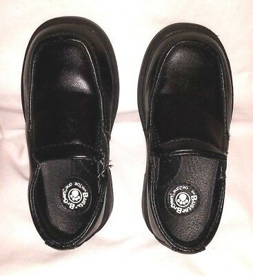 Dress Shoes For Toddler Boy (Black Slip-on Loafers for Toddler Boy by Buster Brown/Size)